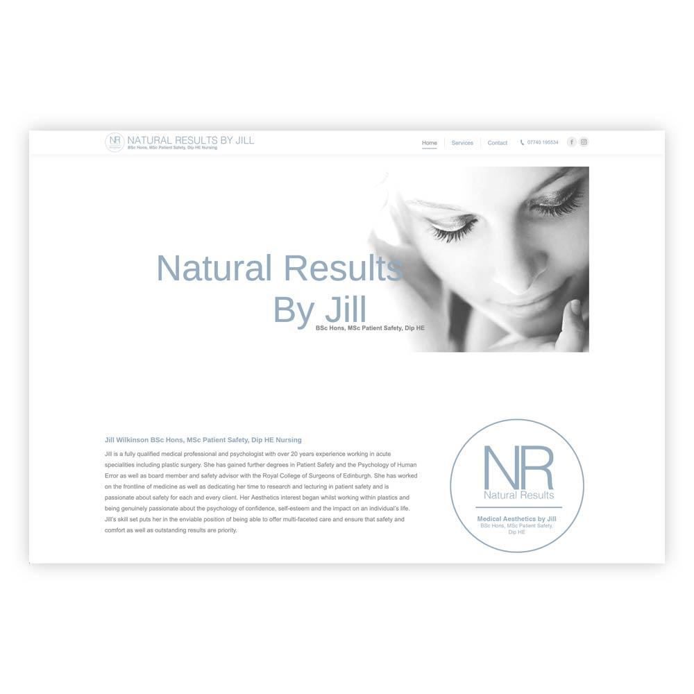 Jill Wilkinson website design